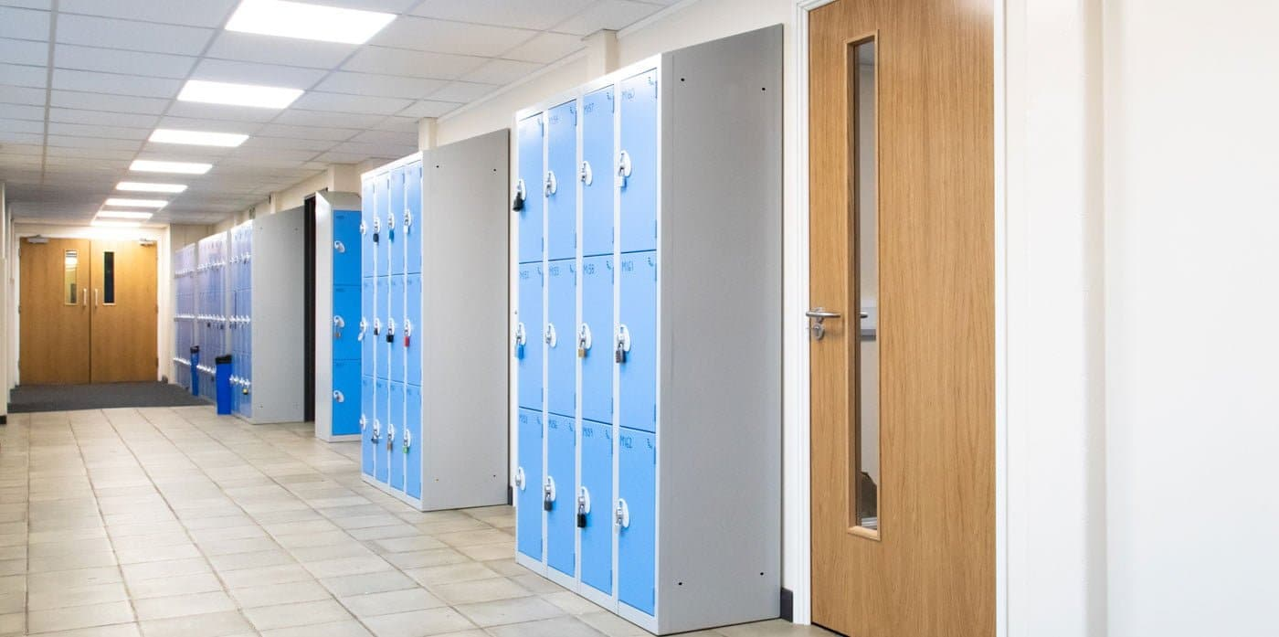 St Albans Girls School Lockers