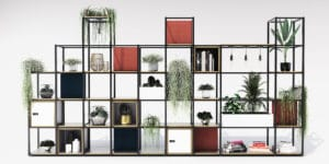 Novus urban shelving solution