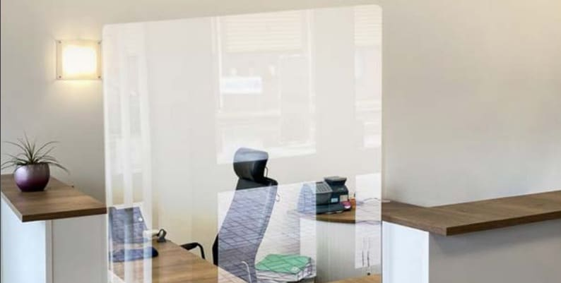 MBS Acrylic Screens for Workplaces & Offices