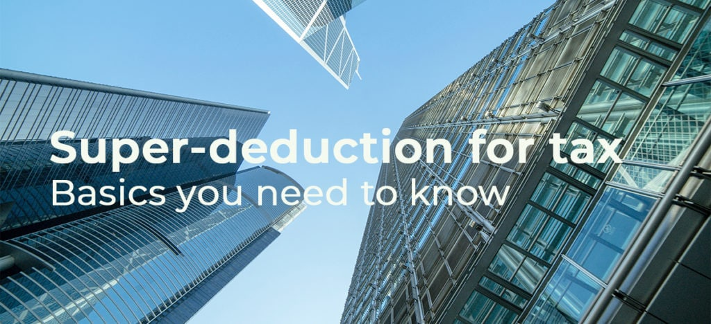 Super Deduction | Palmers Business Support | MBS Workplace Environments | Hertfordshire | Office Furniture